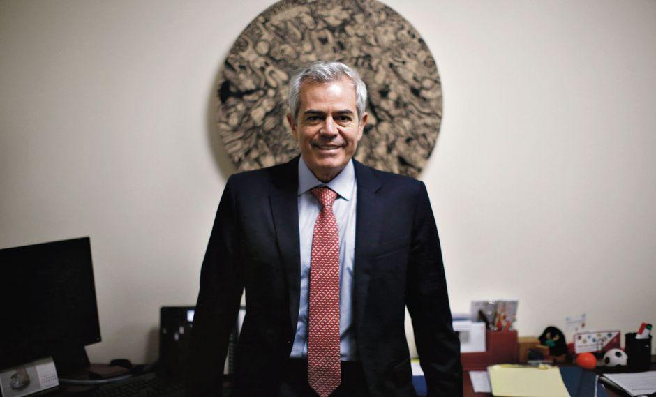 Gianfranco Castagnola. Presidente ejecutivo de Apoyo Consultoría. (Mario Zapata)