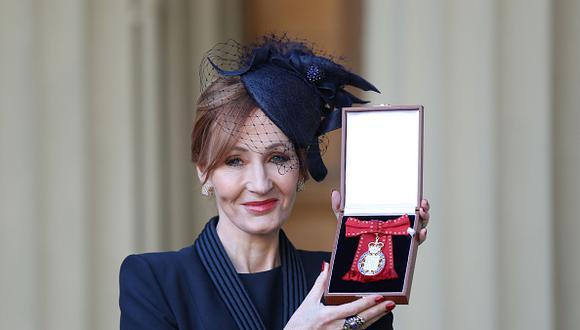 J.K. Rowling (Getty)
