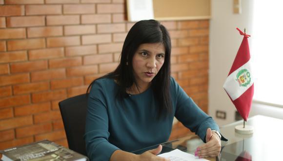 Silvana Carrión asumió la procuraduría el 13 de febrero del 2020. (Foto: archivo GEC)