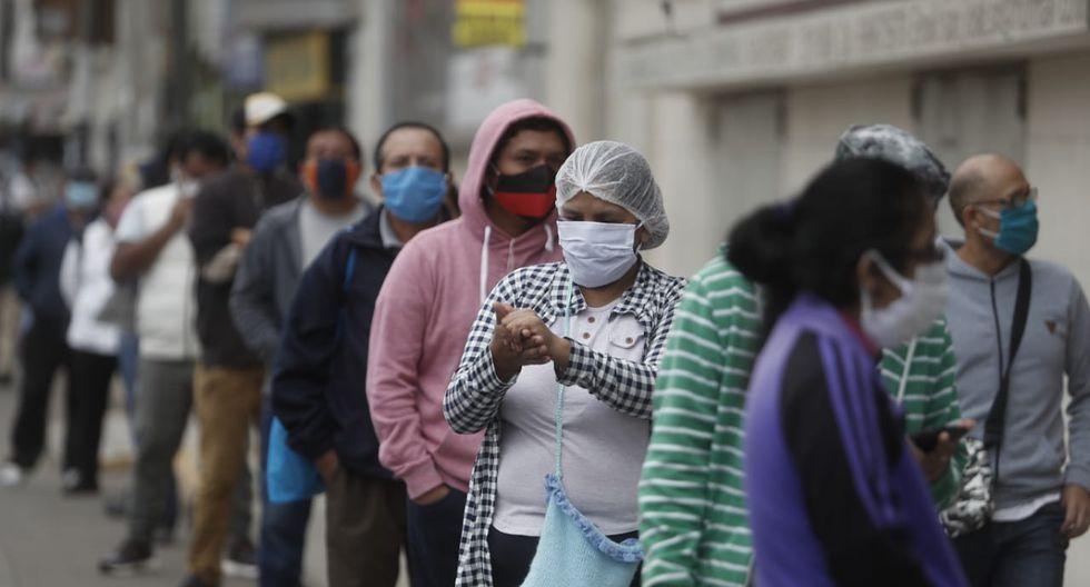 Ya no es necesario formar largas colas para cobrar el bono de S/ 760. ( Foto: César Campos | GEC)