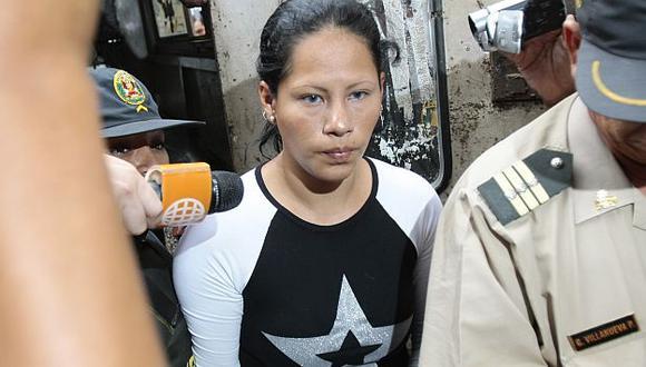 Isabel Tello Chanduvi fue condenada a cadena perpetua. (Rafael Cornejo)