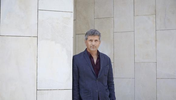 Retrato del escritor peruano Santiago Roncagliolo.