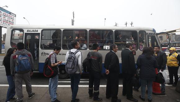 Esta medida es parte del conjunto de acciones técnicas implementadas por la Autoridad de Transporte Urbano para Lima y Callao (ATU) para mejorar el servicio de los Corredores Complementarios,. (Foto: César Grados)