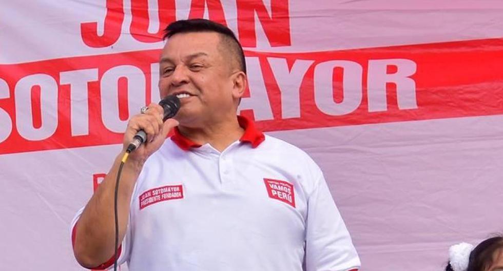 Juan Sotomayor es candidato al Gobierno Regional del Callao por Vamos Perú. (Foto Vamos Perú).