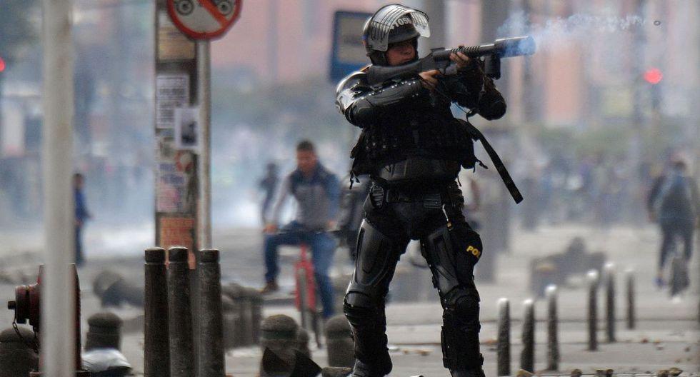 Protestas en Colombia: Decretan toque de queda en tres barrios populosos de Bogotá. (AFP)
