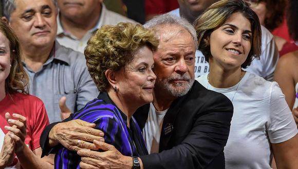 Brasil: Absuelven a Lula da Silva y Dilma Rousseff del cargo de asociación para delinquir. (AFP)