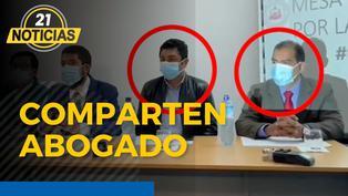 Bermejo y Barranzuela comparten abogado