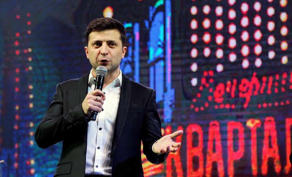 Según la Comisión Electoral Central de Ucrania, más de 13.5 millones de personas votaron por el comediante Zelenski. (Foto: EFE)
