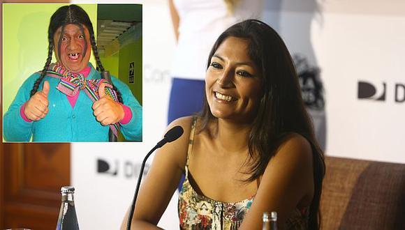 Magaly Solier no se siente ofendida por el personaje La Paisana Jacinta. (Perú 21)