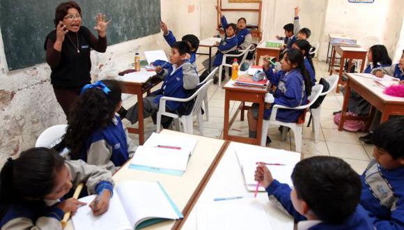 Se busca proteger la salud de 242 mil escolares. (USI)