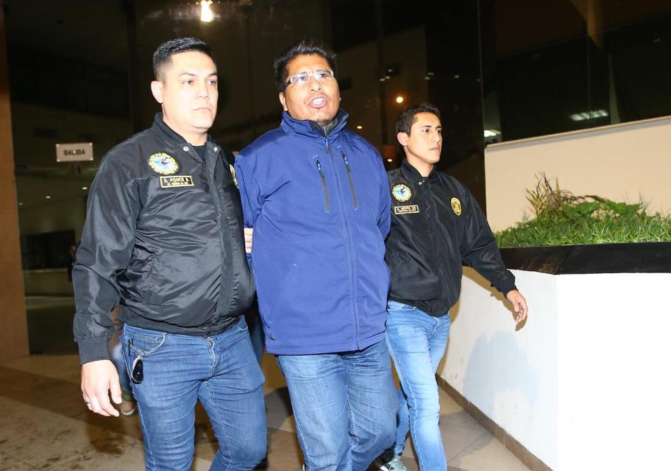 Walter Aduviri, gobernador regional de Puno, fue capturado en un hotel de La Victoria. (Alessandro Currarino/GEC)