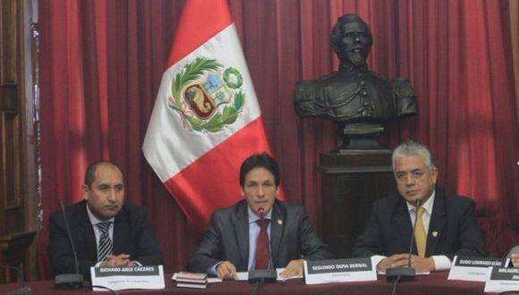 Gonzales, Takayama, Mulder y Lescano también integran el grupo. (Congreso)