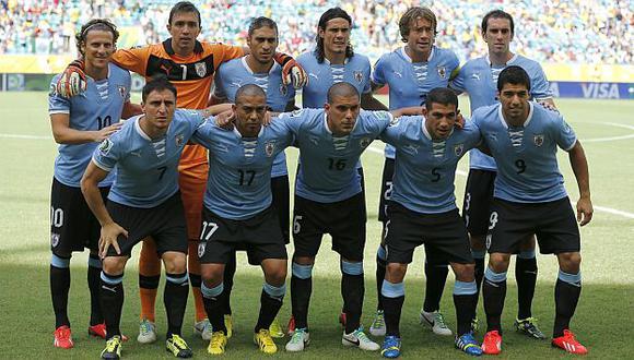Uruguay llega en su mejor forma, pero no es invencible. (AP)