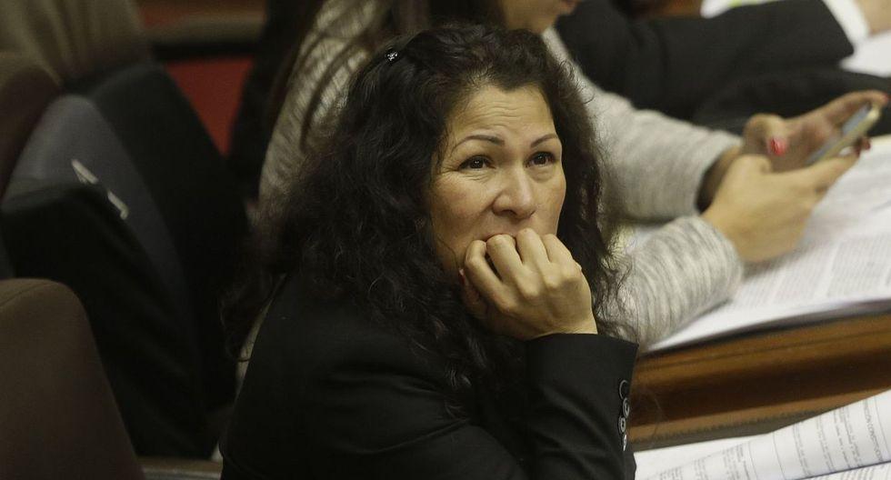 """La Comisión de Ética recomendó en su informe final la suspensión de Yesenia Ponce por 120 días por, entre otras cosas, haber registrado compañeros de clase """"fantasmas"""". (Foto: USI)"""