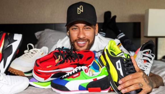 Neymar dejó Nike para unirse a Puma. (Foto: Instagram)