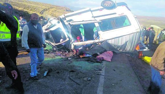 Puno: Ronaldo Alfredo Jáuregui Callomamani (54), conductor del vehículo mezclador de cemento quedó en calidad de detenido mientras duren las diligencias respectivas.