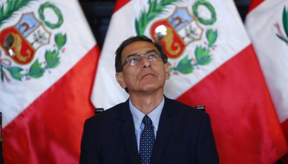 El presidente Martín Vizcarra encabezará la ceremonia de juramentación en Palacio de Gobierno. (Perú21)