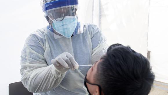 Los investigadores dijeron que no pudieron determinar el origen de la cepa del virus ya que la muestra fue tomada de la garganta del niño en lugar de la nariz. (Foto: VALERIE MACON / AFP).