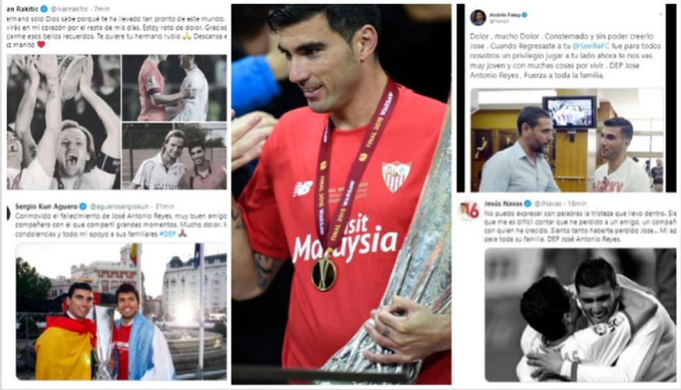 José Antonio 'Perla' Reyes: el mundo del fútbol lamenta así la muerte del español.(Captura: Twitter)