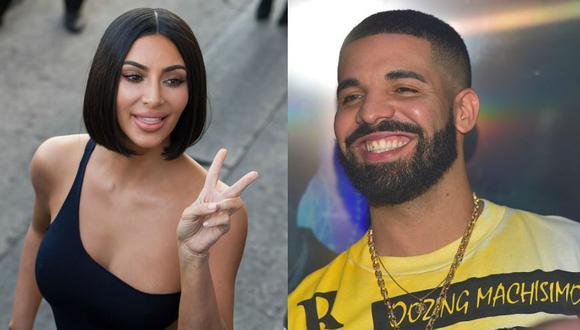 Usuarios de Instagram comenzaron con las más alocadas teorías sobre un affaire que tendría como protagonistas a Drake y a Kim Kardashian. (Fotos: Getty)