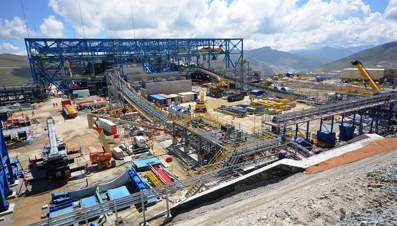 """Minera Las Bambas mantiene una posición """"conservadora"""" acerca del precio del cobre en lo que resta del año (Foto Difusión)"""