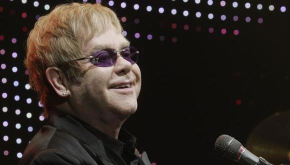John llegará a Lima el 31 de Enero y cantará entre 26 y 28 temas. (Reuters)