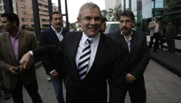 SE LIBRÓ. Poder Judicial le sacó un peso de encima a Castañeda. (Rafael Cornejo)