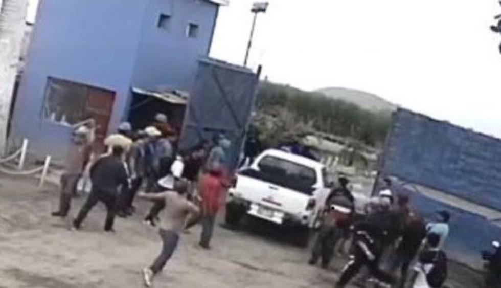 Sujetos armados irrumpieron esta mañana en la azucacera Pucalá.