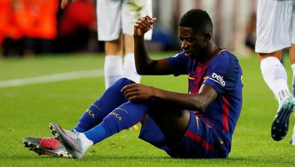 Dembélé lleva tres goles anotados en la Champions League. (Foto: Reuters)