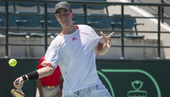 Nicolás Álvarez chocará con el chileno Nicolás Jarry en segunda ronda. (Foto: AFP)
