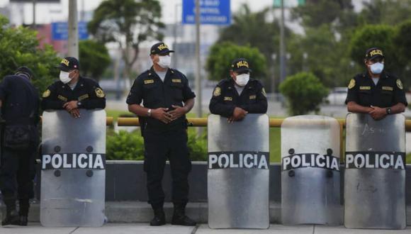 Hay nueve policías en cuarentena contagiados de coronavirus. (Foto: GEC)
