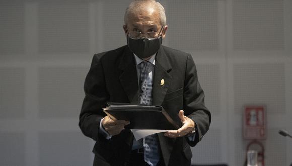 """Pedro Chávarry fue destituido como fiscal supremo por """"faltas muy graves"""". (Foto: GEC)"""