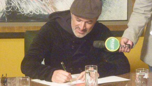 Alcántara firmó convenio. (Difusión)
