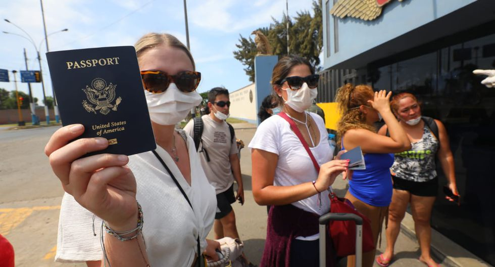 Ciudadanos estadounidenses aún no pueden dejar el Perú (Gonzalo Córdova/GEC).