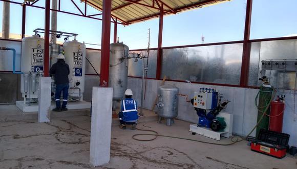 Cajamarca: entregan planta de oxígeno a hospital de Celendín (Foto referencial).