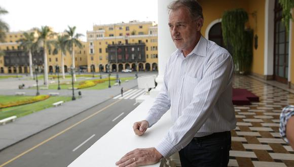 Jorge Muñoz reiteró su crítica hacia la titular de la ATU. (Foto: Anthony Niño de Guzmán/ GEC)