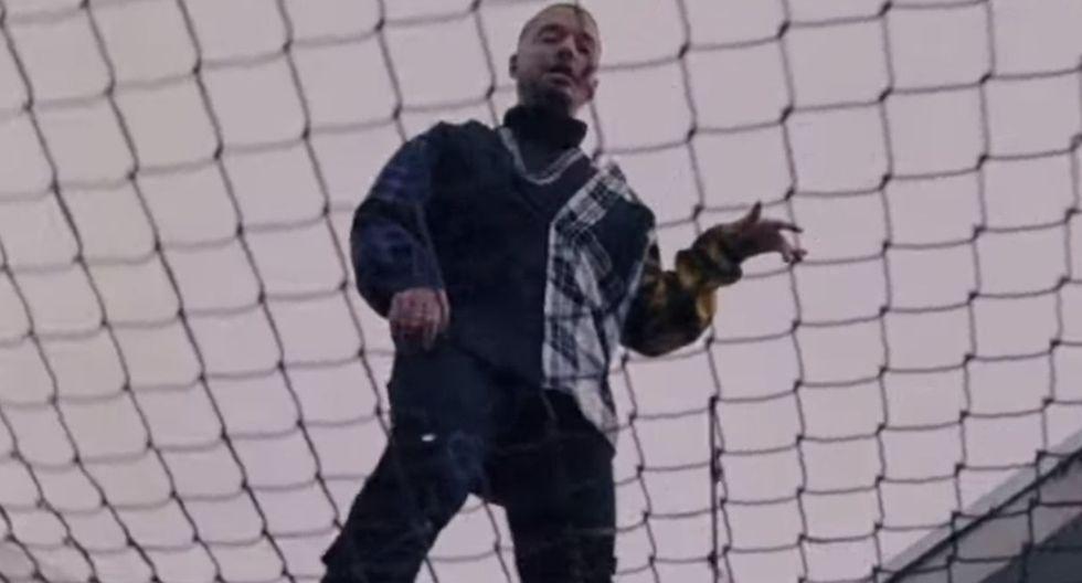 """J Balvin ocupa el primer lugar en lista Billboard gracias a su tema """"Reggaeton"""". (Foto: Captura de YouTube)"""