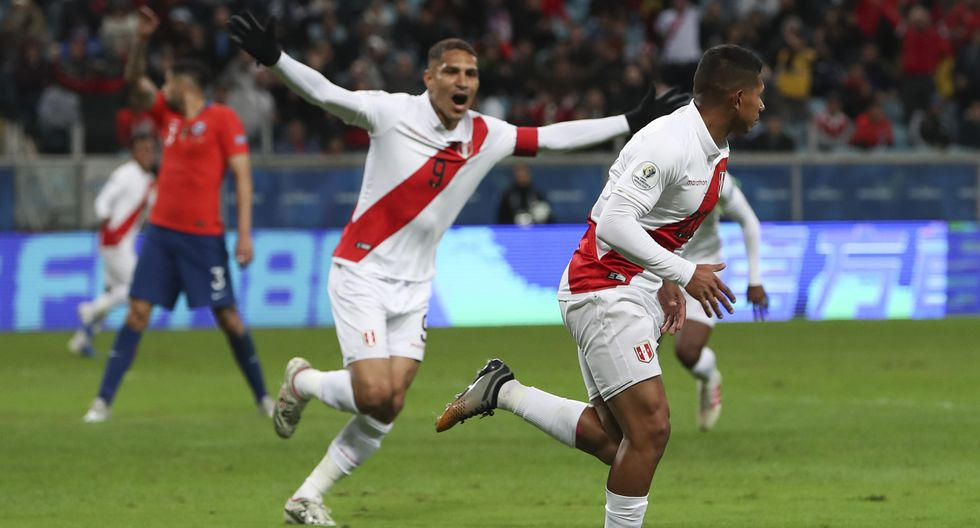 Perú goleó 3-0 a Chile y disputará con Brasil la final de la Copa América 2019. (Foto: AP)