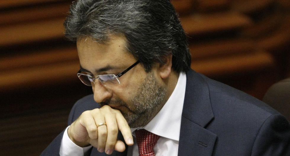 El expremier Juan Jiménez. (USI)