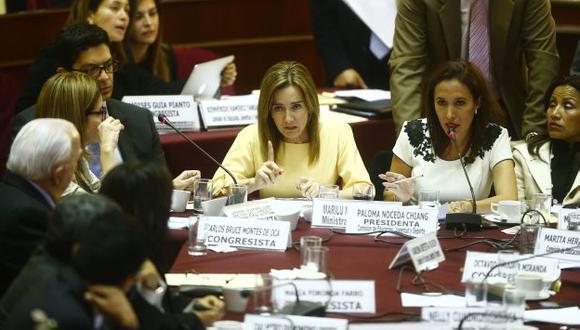 La ministra de Educación, Marilú Martens, afrontará una interpelación del Congreso. (Luis Centurión/Perú21)