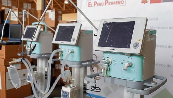 Ventiladores de oxígeno están olvidados en un almacén. (GEC)