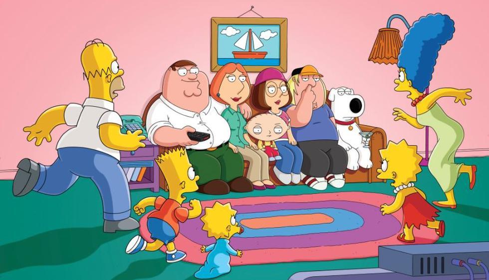 'Padre de Familia' y 'Los Simpson'. (Difusión)
