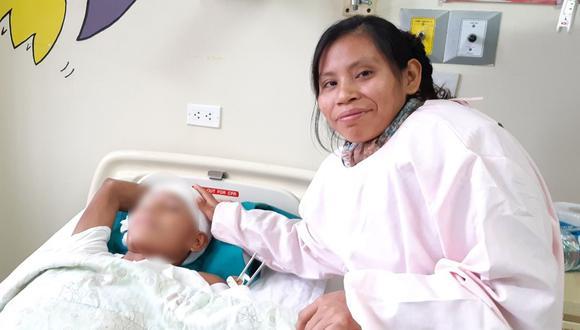 El adolescente fue traído a Lima para acceder a una atención médica especializada. (Ministerio de Salud)