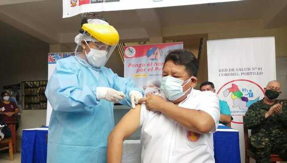 """Ugarte precisó que del reporte preliminar de la Contraloría """"lo más grave es que se haya vacunado a extrabajadores"""". (Foto: Minsa)"""