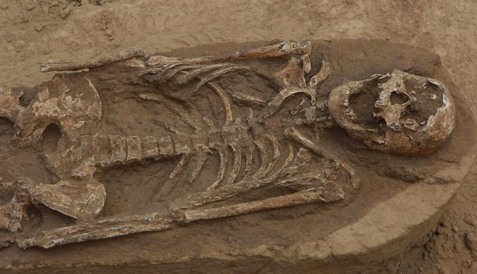 Más de 40 esqueletos y un sinnúmero de vasijas han sido rescatados. (Perú21)