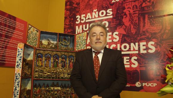 Reppeto se desempeñaba como director del Museo de Artes y Tradiciones Populares del Instituto Riva Agüero de la Universidad Católica del Perú.