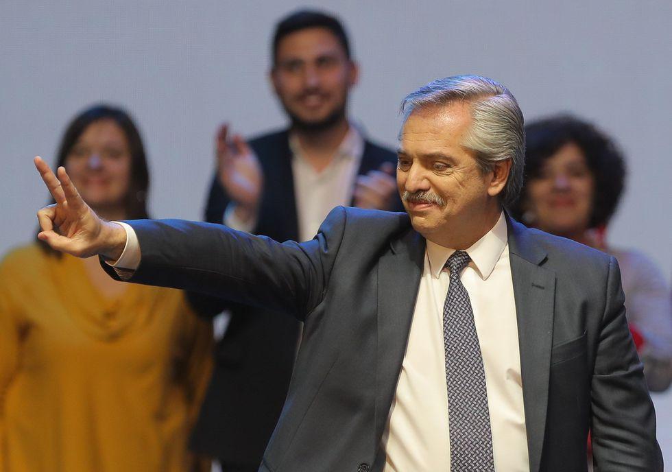 En la imagen, Alberto Fernández que se postula como presidente en Argentina. (Foto: EFE)