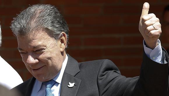 Santos anunció que los últimos exámenes médicos realizados descartaron metástasis o presencia de un nuevo tumor. (AP)