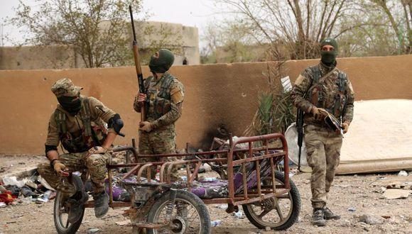 El pasado 23 de marzo, las FSD anunciaron el final de la ofensiva contra el Estado Islámico tras la conquista de Al Baguz. (Foto referencial: EFE)