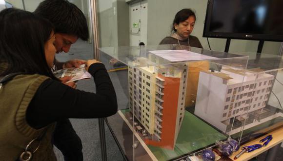 COSTO. Cada crédito hipotecario es de S/.200 mil en promedio. (USI)